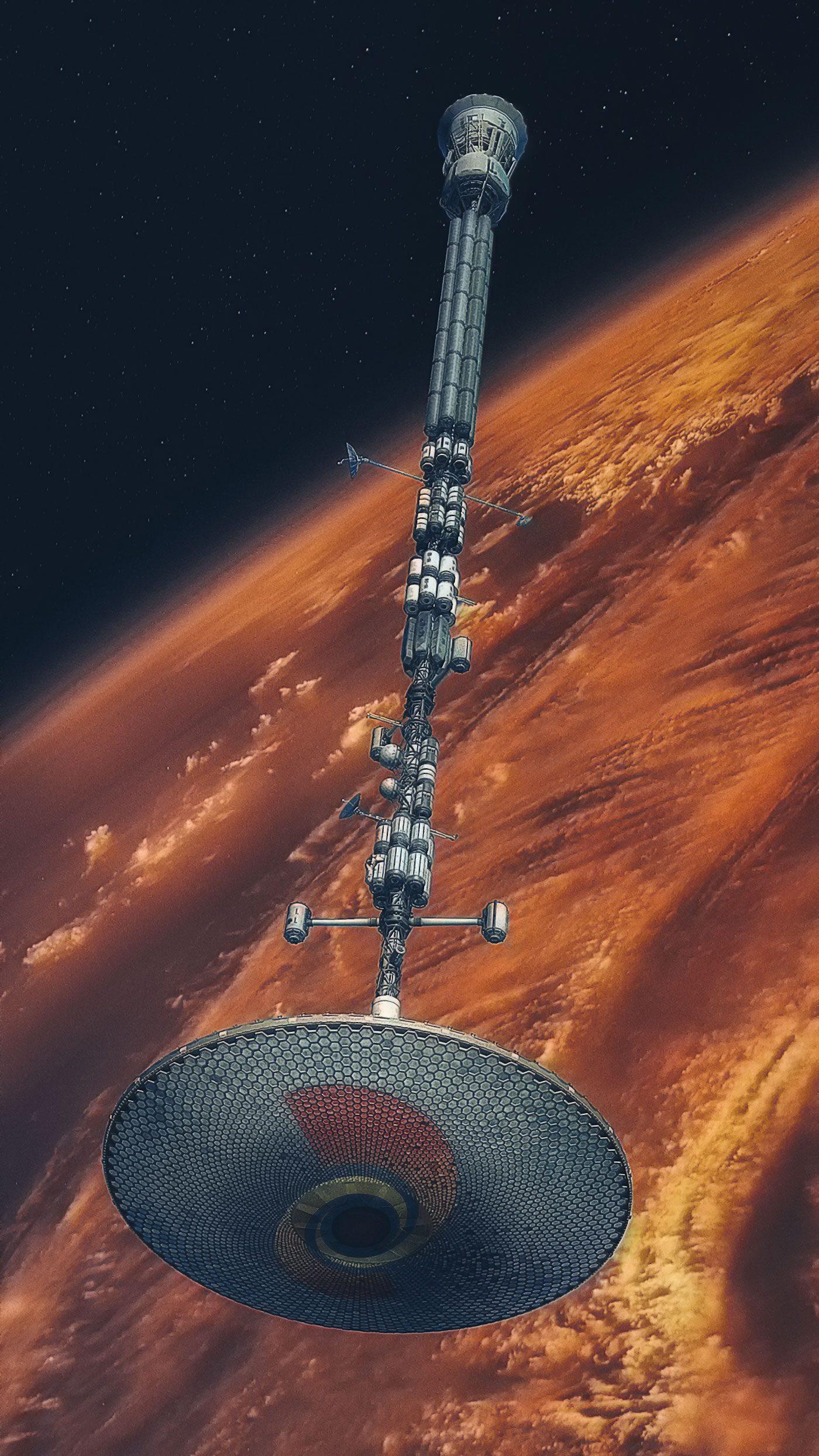 Candal SAR spaceship