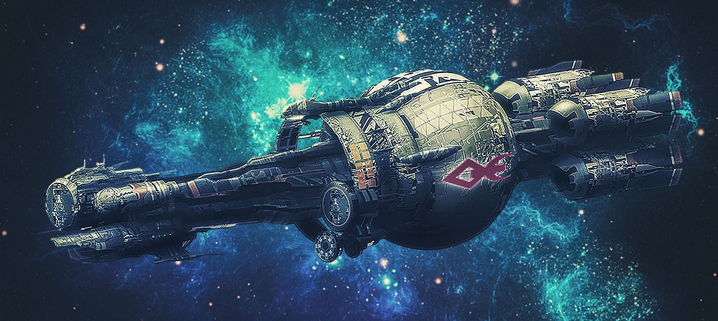 Hospital spaceship